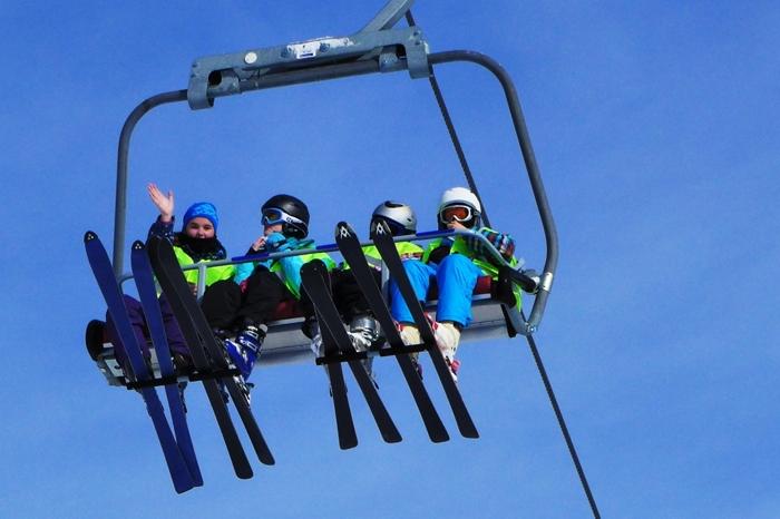 Leica D Lux 6 Ski Lift Photos