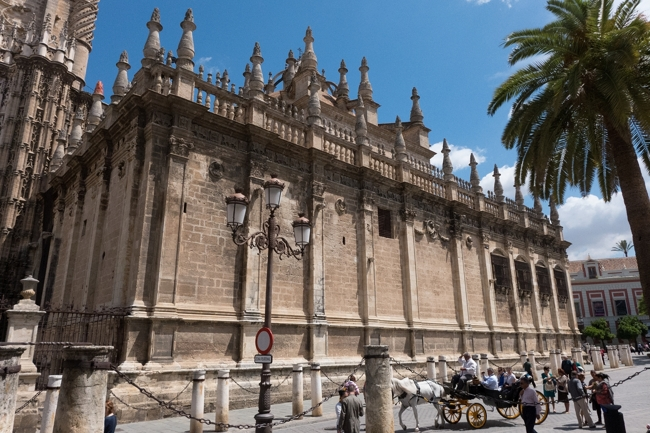 Seville city in Spain is the capital of Andalucia